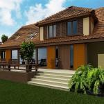 Dom jednorodzinny w okolicach Szczecina – projekt architektoniczny