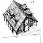 Projekt architektoniczny domu jednorodzinnego nad morzem bałtyckim