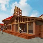 Projekt architektoniczny restauracji przylądek smaku