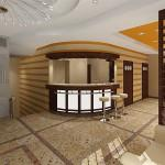 Projekt wnętrza hotelu w Barlinku