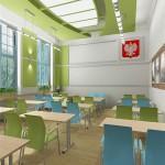Projekt wnętrza kancelarii w Sczecinie 2