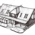 Projekt architektoniczny domu jednorodzinnego w okolicach szczecina