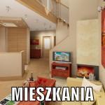Projekty wnętrza mieszkań