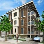 Budynek apartamentowy w Międzyzdrojach – projekt