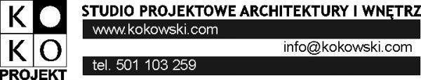 Kokoprojekt Jacek Kokowski architekt i projektant wnętrz